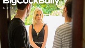 Allie Nicole – Allie Nicole takes on two big cock bullies
