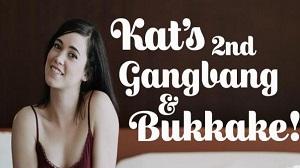 Kat – 2nd Gangbang And Bukkake – E34