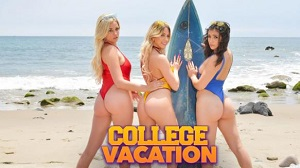 Khloe Kapri, Brooklyn Gray & Sophia Lux – Summer Break from College starts with a bang!