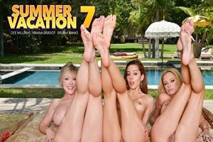 Briana Banks, Dee Williams & Vanna Bardot – Surprise birthday party turns into a surprise foursome!
