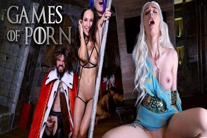 Purple Bitch & Lilu Moon – Game of Porn Episode 2: The Dick of the North