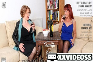 Beau Diamonds & Camilla C – Beau Diamonds and Camilla love licking pussy, fisting, scissoring and strapon sex