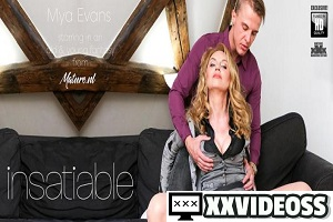 Mya Evans – Hot MILF Mya Evans getting everything she wants from her toy boy lover
