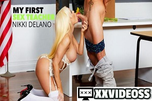 Nikki Delano – Kristen Connor (Nikki Delano) gets sperm doanted by student