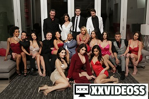 Demi Sutra, Desiree Dulce, Emily Willis, Gabbie Carter, Ivy Lebelle, LaSirena69, Luna Star, Phoenix Marie, Valentina Nappi & Whitney Wright – Valentine's Day Affair: Best Moments