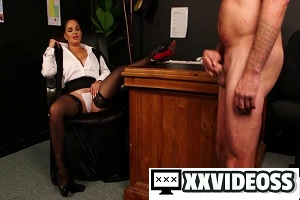 Becky B – Headmistress Milking