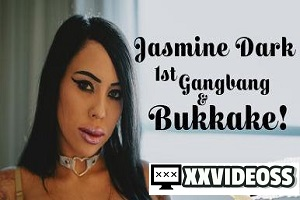 Jasmine Dark – 1st Gangbang & Bukkake! – E39