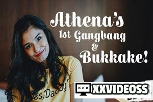 Athena – Athena's 1st Gangbang & Bukkake! – E40