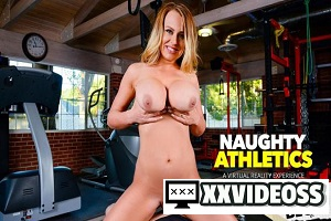 Corinna Blake – Corinna Blake can't keep her tits in her shirt when she meets a stranger at the gym – VR