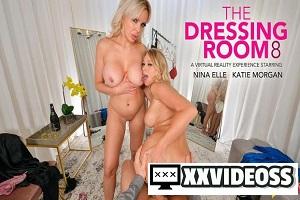 Katie Morgan & Nina Elle – BFFs Katie Morgan and Nina Elle take a trip to the notorious dressing room – VR